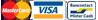 Mastercard en Visa - Geen Bankcontact
